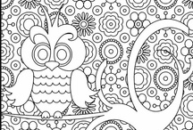 Coloring Pages / by Stacy Burke