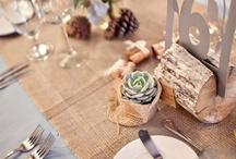 """BROWN-BURLAP-NUDE WEDDING  / Tons marrons i color Sac .Hi  inclourem casaments amb complements fets amb roba de """"saca"""""""