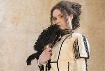 steampunk, 19th century, victorian period costumes