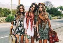 Bohemian-Hippie-Vintage Fashion
