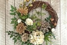 Wreaths & more.... / by Dyanne Katt-Bickford