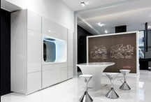Karim Rashid  /  Karim Rashid's visionary idea for ARAN Cucine: two exclusive concepts featuring a soft and fluid design, of extraordinary beauty, whilst still adhering to hygiene and production issues.