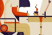 Posters & Illustrators