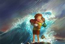 Ponyo on the Cliff by the Sea / Gake no Ue no Ponyo