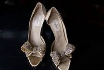 Bridal Shoes / High Heels; sandals; flats: Here are some examples of bridal shoe fashion. What will you wear on your big day? Something Blue Photography  www.somebluephoto.com