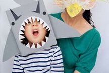Paper mask for kids
