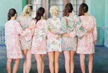 Bridesmaid / All things bridesmaid: dresses, getting ready, gifts