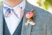 Boutonniere / Amazing wedding boutonnieres--playful, stylish, classic