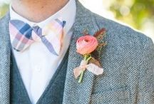 Boutonniere / Amazing wedding boutonnieres--playful, stylish, classic / by Spunky Sapphire Events