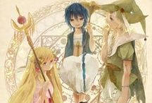 Magi:The Labyrinth Of Magic II / Magi:The Labyrinth Of Magic / Magi: The Kingdom of Magic