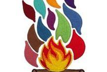 Campfire Flames Set
