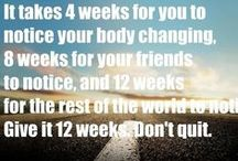 Exercise/getting fit