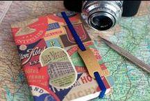 Papelería / Agendas originales, libretas especiales, diarios, marcapáginas, material de escritura y todo lo que puedas imaginar.