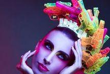 Cyber Pops / Rainbow ~ Neon ~ Glittery ~ Cyber  ~ www.powdermonki.co.uk ~