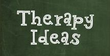 Therapy Ideas / Ideas to use in Speech/Language Therapy