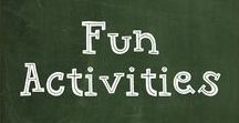 Fun Activities / Craftivities and other fun activities for promoting speech/language