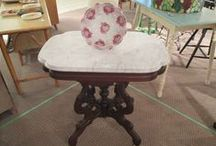 Sell It Here Too - Antique Booths / A collection of the booths in our store. 3805 Fortune Dr, Lafayette, IN 47905