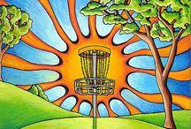 Disc Golf Art