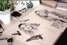 Teckna och måla