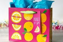 Gift Wrap & Gift bags / Some of our favourite examples of the perfect gift wrap and gift bags