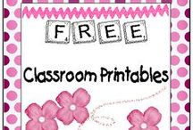 * Printables (free!) for Teachers / by Curcio Connects