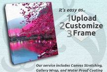 Our Services / Don't strand your photos in cyberspace. Put them on your walls for all to see! Upload your photo, frame it and have it become a work of art! Design and create unique pieces; perfect for the home, office, and as special gifts!