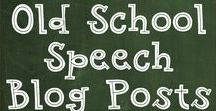 Old School Speech Blog Posts / Blog posts from a 30+ year veteran; Old School Speech Blog Posts offer advice, app reviews, and therapy ideas.
