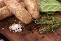 Flocchini Sausage / At Flocchini Family Provisions, our sausages are simple. Made with the fewest ingredients possible, we focus on using whole muscle meats and only the finest herbs. Find more at flocchinisausage.com.