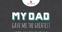 Father's Day 2016 / Farther's Day ideas, gifts, wrapping paper and greeting cards