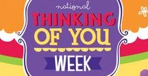 Thinking of you week 2016