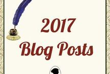 ^AuAu Blogs 2017 / Pinned images with direct links to all of our blog posts from 2017. Topics are forever relevant and Comments are always welcome! http://austenauthors.net