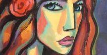 Retratos mujeres gitanas y flamencas / Portraits gypsy women and Spanish flamenco
