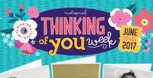Thinking of you week 2017 / Thinking of You Week is coming! Next month from June 19-26 the we ask you to send a card and raise a smile. Just because you care. And because we know you love competitions, we have organised one too! Keep an eye out on this page. #thinkingofyou #competitioncoming #johnsands https://www.youtube.com/watch?v=HuZlysvbk3M