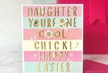 Easter / Celebrating Easter with cards