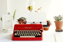 typewriter love // / typewriters are lovely, aren't they?