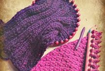 A LOOM KNITTING / BLANKETS, APPAREL, FLOWERS, ETC MADE FROM ANY KIND OF LOOM / by Becky L Savage