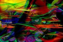 Locomoción / Pintura Abstracta Digital . Digital Abstraction Paintings.  © All work is copyright and protected. Unauthorised usage, duplication, production or reproduction without prior written consent is strictly prohibited. All rights reserved