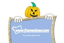 Halloween Ecards/Photo Frames / In this board you can find some of the Halloween photo frames/ e-cards