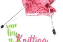 Knitting / Druty