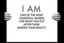 I am....ME