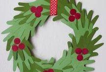 Vánoce - výtvarné nápady (školka) / VÝTVARNÉ NÁPADY