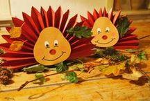 podzimní tvoření s dětmi