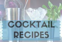 Cocktail Recipes / Bringing you the tastiest and easiest #cocktail #recipes which you can make at home.