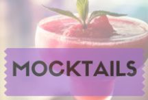 Mocktails / Some inspiration for those who want to try non-alcoholic drinks.