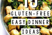 Gluten Free main meals / Main meals