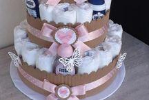 Towel & Diaper cake