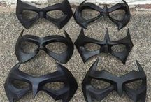 Cosplay super hero and villains face masks / Ever wanted to be Nightwing, The Arrow, Arsenal, Black Canary, Robin, Green Lantern, Jason Todd/ Red Hood Harley Quinn etc? Check out our masks :) - You can see more photos and all of our masks on our Facebook page and website.