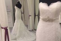 Aire Barcelona - Amelie - Rosa Clara / Aire Barcelona Amelia színes esküvői ruha a Rosa Claratól - törtfehér színben is!