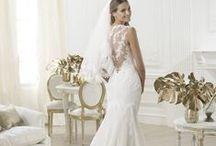 Laren - Pronovias / Laren esküvői ruha a Pronovias kollekció nagysikerű sellőruhája! Mesés csipkés hátrésszel! Kizárólag a La Mariée Budapest esküvői ruhaszalonban kölcsönözhető!