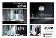 Elica - Made in Italy / Elica Rangehood Collection - Design Beyond Boundaries. We are very excited to introduce the elica Collection. This stunning high-end European range, that is poised to revolutionise the rangehood market in Australia by offering the first truly premium line of air extraction products as seen on Grand Designs. Elica Collection is the couture of kitchen design, taking traditional rangehoods into the new era.